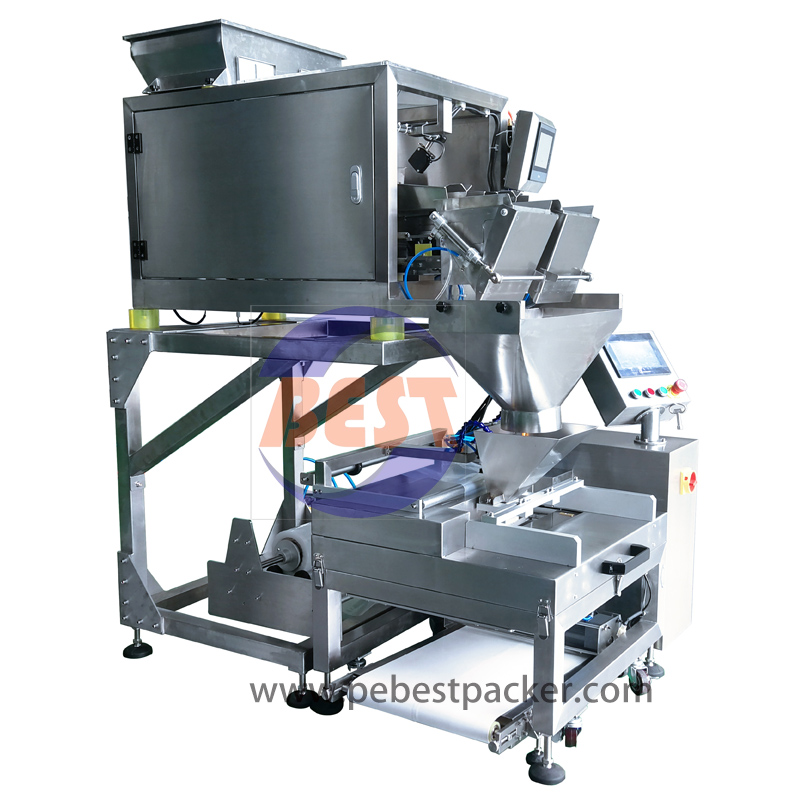 Système breveté Compact Form Fill Seal par Lane Weigher